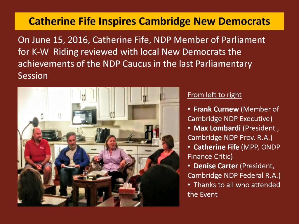 Web Posting - Catherine Fife